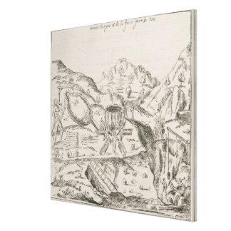 A Silver Mine' Canvas Print