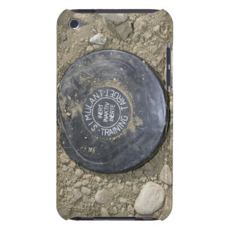 A simulated land mine barely there iPod case
