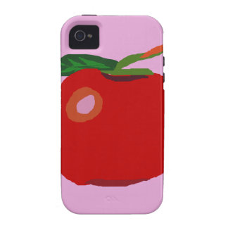 A Single Apple Light Pink iPhone 4 Covers