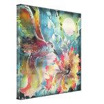 A Single Hummingbird Canvas Print