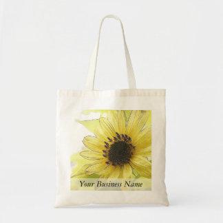 A Single Lemon Yellow Sunflower Bags