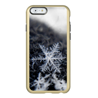 A single snowflake on stands out incipio feather® shine iPhone 6 case