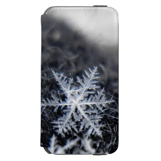 A single snowflake on stands out incipio watson™ iPhone 6 wallet case
