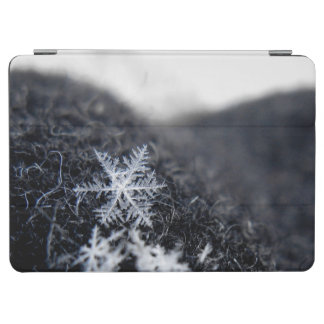 A single snowflake on stands out iPad air cover