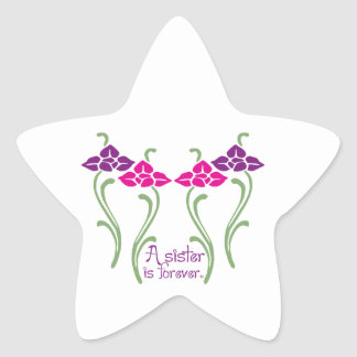A Sister Is Forever Star Stickers