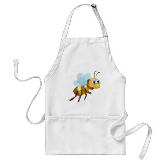 A six-legged insect apron