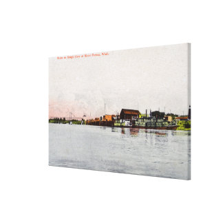 A Skagit River Scene Gallery Wrapped Canvas