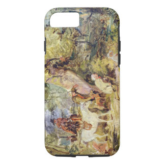 A Sketch for 'Foresters Stalking Deer' (oil over c iPhone 8/7 Case