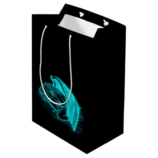 A sleeping Angel Medium Gift Bag