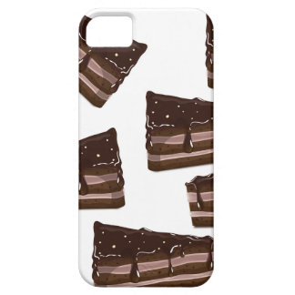 a Slice of Chocolate Cake. iPhone 5 Covers
