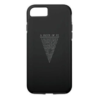 A Slice of Pi Typography iPhone 7 Case