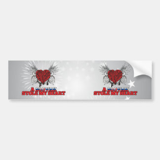 A Slovak Stole my Heart Bumper Sticker