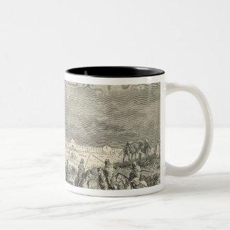 A Smala: Algeria Two-Tone Coffee Mug