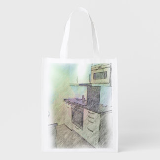 A small Kitchen Grocery Bags