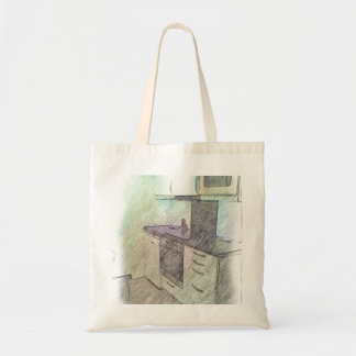 A small Kitchen Budget Tote Bag