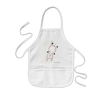 A small pig… kids apron