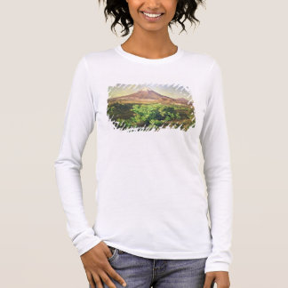 A Small Volcano in Mexican Countryside, 1887 (oil Long Sleeve T-Shirt
