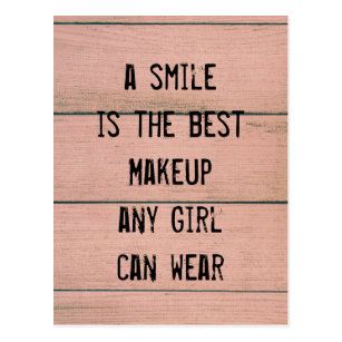 And Makeup Quotes Cards Zazzle Uk