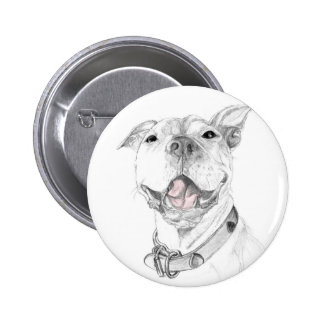 A Smile is Worth a Thousand Words A Pit Bull SmOri 6 Cm Round Badge