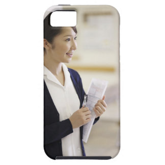 A smiling nurse iPhone 5 cases