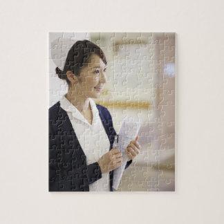 A smiling nurse puzzle