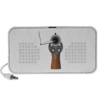A Smoking Gun Travelling Speaker