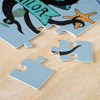 A Smooth Sea Never Made A Skilful Sailor Jigsaw Puzzle