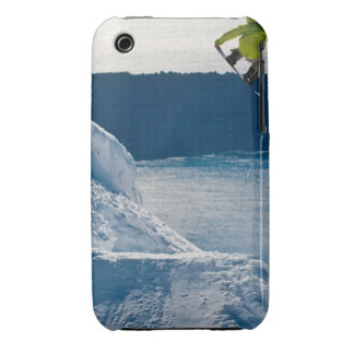 A snowboarder jumping iPhone 3 Case-Mate case
