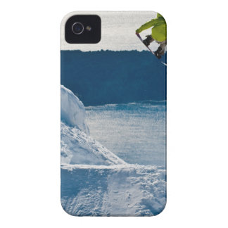 A snowboarder jumping iPhone 4 cover