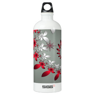 A Snowflake Spiral SIGG Traveller 1.0L Water Bottle