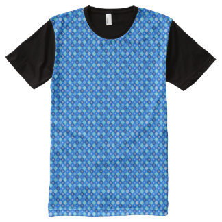 A SNOWFLAKE TILE PATTERN! ~~ All-Over PRINT T-Shirt