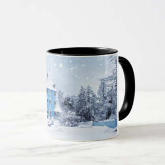 A Snowy Winter Evening Mug