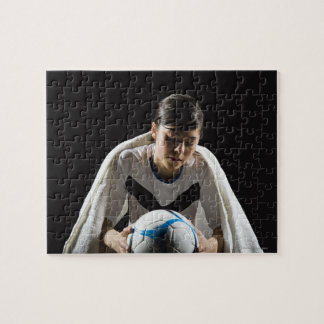 A soccer player 7 jigsaw puzzle