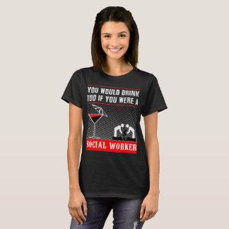 a Social Worker T-shirt