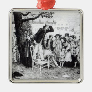 A Socialist Speaker, engraved by W.Strong, 1891 Christmas Ornament