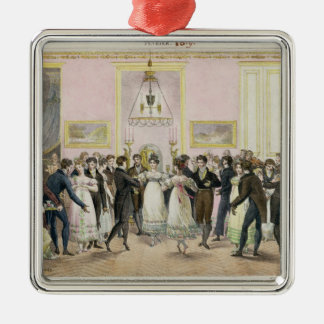 A Society Ball, engraved by Charles Etienne Christmas Ornament