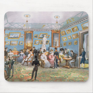 A Society Drawing Room, c.1830 Mouse Pad