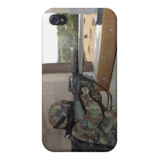 A soldier acts as an opposition force iPhone 4/4S covers