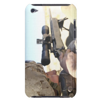 A soldier aims in with his M40A3 iPod Touch Covers