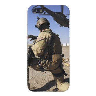A soldier conducts security for an HH-60 Case For The iPhone 5