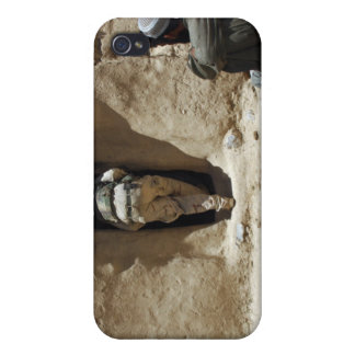 A soldier from the National Guard iPhone 4 Covers