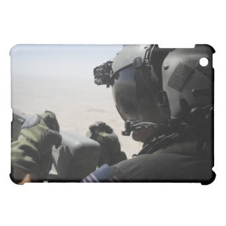 A soldier provides security iPad mini covers
