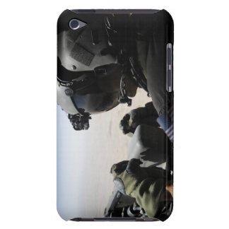 A soldier provides security iPod touch Case-Mate case