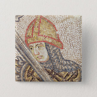 A soldier with a sword 15 cm square badge