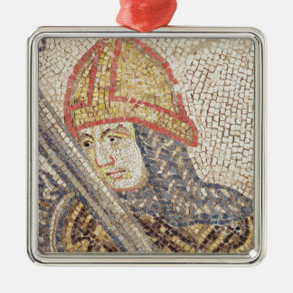 A soldier with a sword christmas ornament