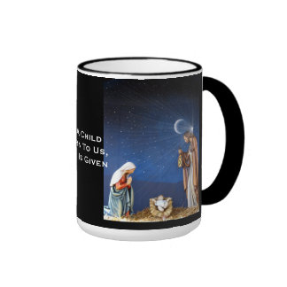 A Son Is Given Ringer Mug