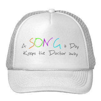 A Song a Day Keeps the Doctor Away Cap