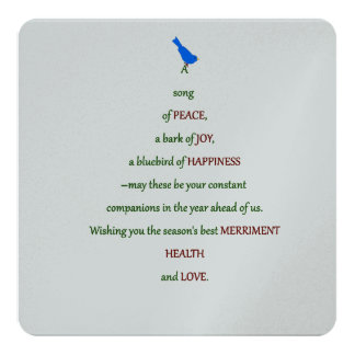 A Song of Peace Card