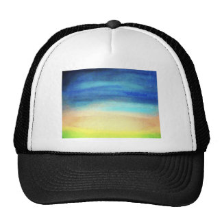 A soothing display of soft pastel colors decor hats