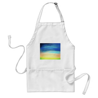 A soothing display of soft pastel colors decor standard apron